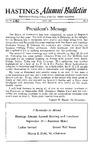 Hastings Alumni Bulletin Vol. IV (13), No.2 (1963) by Hastings College of the Law Alumni Association