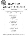Hastings Alumni Bulletin Vol. V, No.1 (1964)