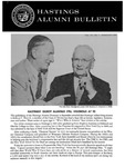 Hastings Alumni Bulletin Vol. VII, No.1 (1966) by Hastings College of the Law Alumni Association