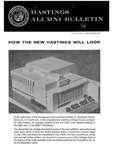 Hastings Alumni Bulletin Vol. VII, No.2 (1966)