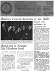 Hastings Alumni Bulletin Vol. VIII, No.4 (1968) by Hastings College of the Law Alumni Association