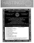 Hastings Alumni Bulletin Vol. XIV, No.1 (Fall/Winter 1974-75) by Hastings College of the Law Alumni Association