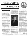 Hastings Community (Spring 1987) by Hastings College of the Law Alumni Association
