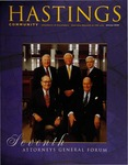 Hastings Community (Spring 2000) by Hastings College of the Law Alumni Association