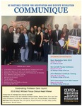 Communique (Winter 2017) by UC Hastings Center for Negotiation and Dispute Resolution