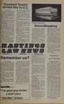 Hastings Law News Vol.12 No.1