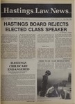 Hastings Law News Vol.17 No.2 by UC Hastings College of the Law