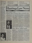 Hastings Law News Vol.21 No.1 by UC Hastings College of the Law
