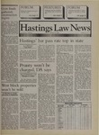 Hastings Law News Vol.21 No.4 by UC Hastings College of the Law