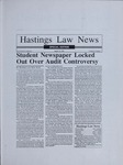 Hastings Law News Vol.24 No.1