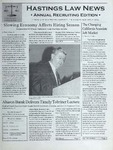 Hastings Law News 2001 Vol.3 Iss.2