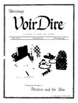 Voir Dire Vol.8, No.1 by Associated Students of Hastings College of the Law